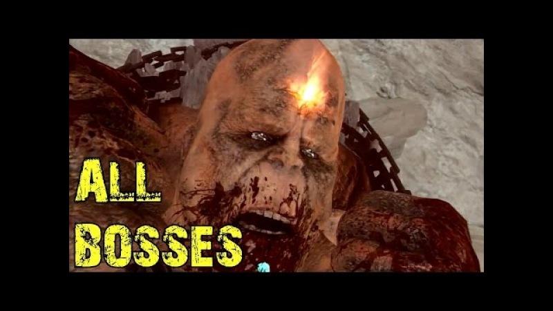 God of War 3 - All Bosses