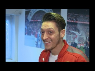 Mesut Ozil assists...