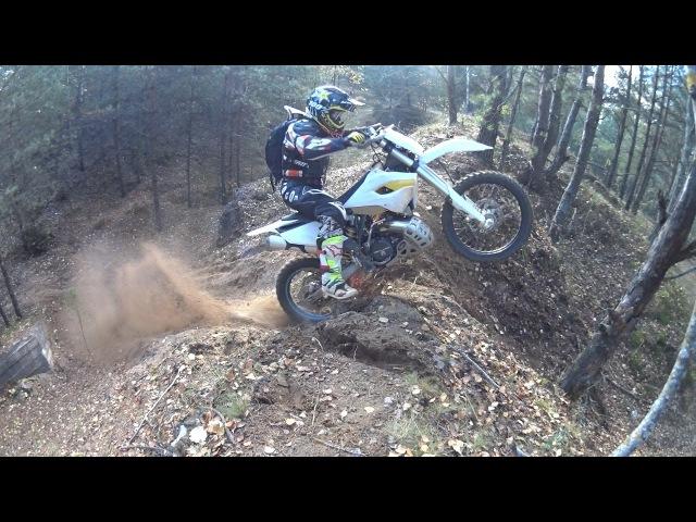 Enduro Ride Along the Berezina River