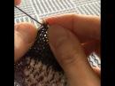 Бесповоротное вязание спицами