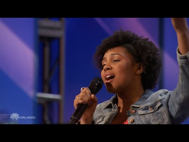 Americas Got Talent 2016 Jayna Brown 14 Y.O. Sings a Classic Full Audition Clip S11E04
