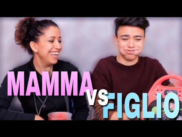 CANTA TU ALEX CO CHALLENGE MAMMA vs FIGLIO