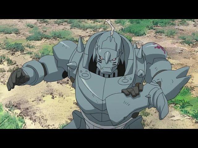 Fullmetal Alchemist Brotherhood - Alphonse vs. Pride and Kimblee