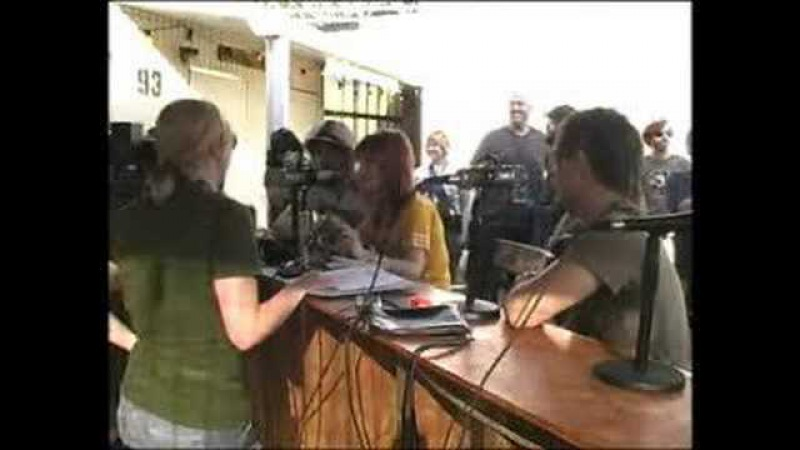 97X Next Big Thing 7 Backstage Webcam featuring PARAMORE