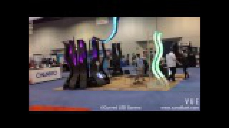 2013 NAB SHOW FOR CURVED LED SCREEN