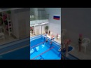 Дельфин 50метров Катя первая дорожка время 1.05.42