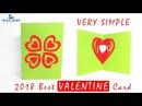 Happy Valentine Card Pop Up Heart Card Tutorial Handmade Valentine Card 2018 Lina's Craft Club
