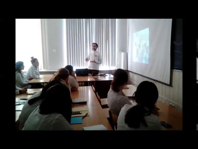 1 марта 2018 года ООД «Корпус «За чистые выборы» был в ГАПОУ «Волгоградский медицинский колледж»