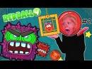 Новые приключения RED BALL 4 2 против ЗЛЫХ КВАДРОТОВ Красный шарик спасает принцессу видео от FFGTV