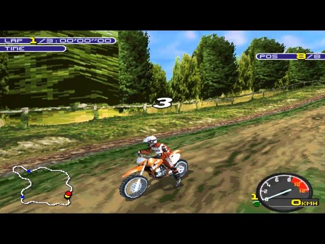 Playstation (PSX) - [13] - Moto Racer 2