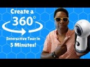 Create An interactive 360 VR Tour in 5 Minutes Using Vizor