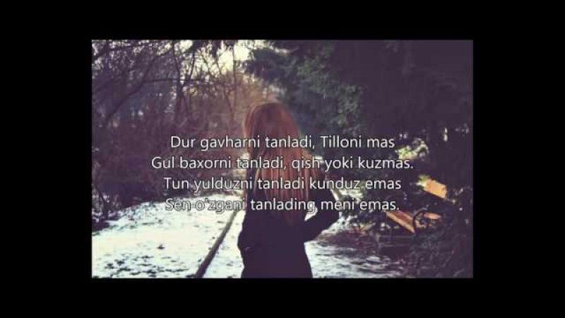 Kamola - Meni Emas (Lyrics), Камола - Мени Эмас (Текст песни)