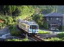 【鉄道のある風景】 JR三江線 お祭り日和で千客万来 [2両目] (8-Oct-2017)