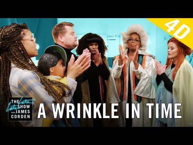 'A Wrinkle in Time' 4D w/ Oprah, Reese Witherspoon Mindy Kaling