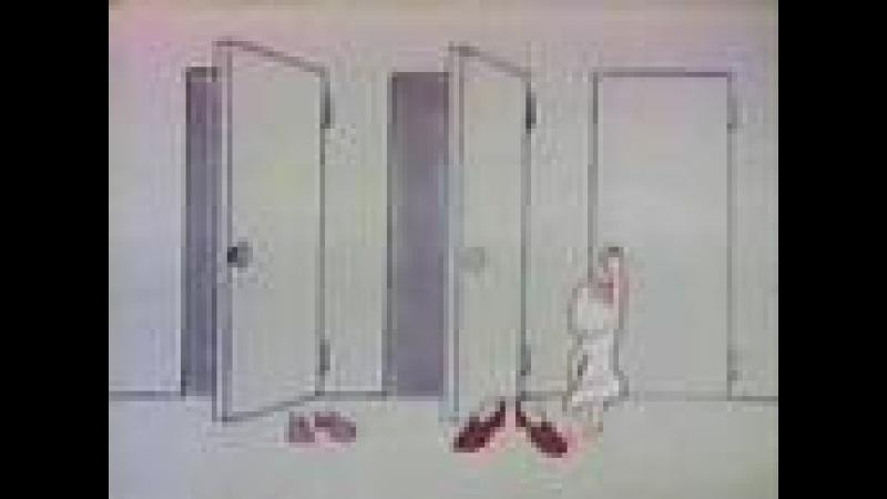 Classic Sesame Street animation - big/bigger/biggest shoes