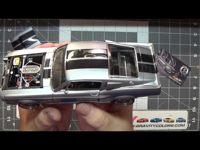 1967 Shelby Mustang GT500 Eleanor scale model build-up video part 11