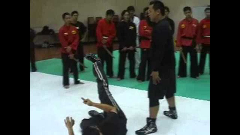 Silat Suffian Bela Diri Kuntau Empty Hands Shock Entries