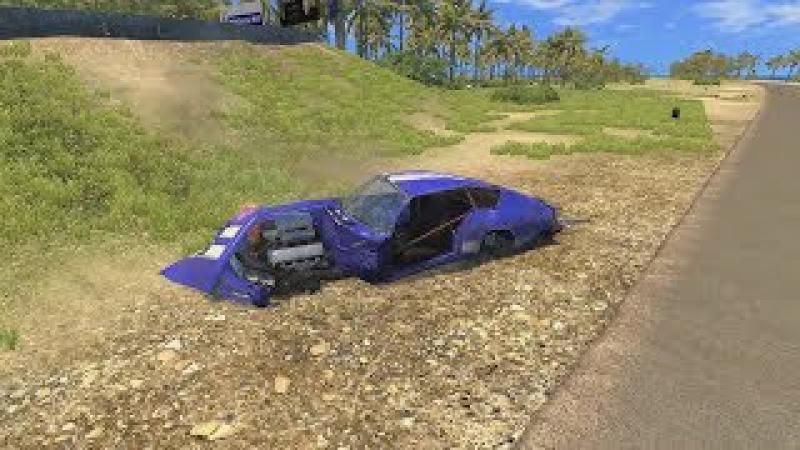 Разбиваем суперкары в игре BeamNg.Drive. Максимальная скорость!. Быстрые и громки тач ...
