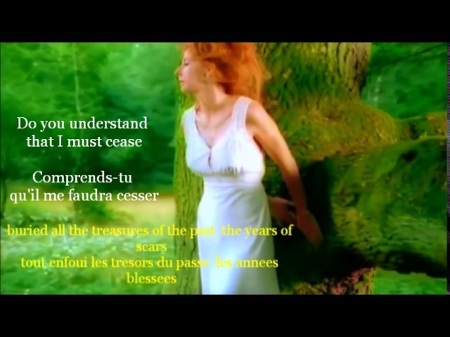 L'INNAMORAMENTO Mylene Farmer Bi-lingual Paroles Words 5 52