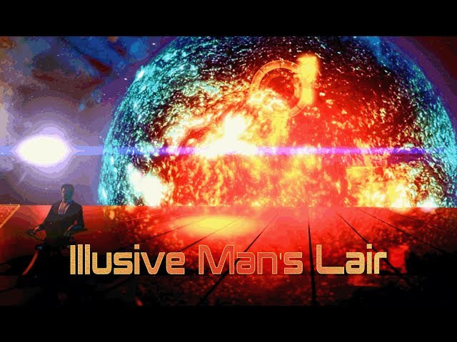 Mass Effect 2 - Illusive Mans Lair (1 Hour of Ambience)