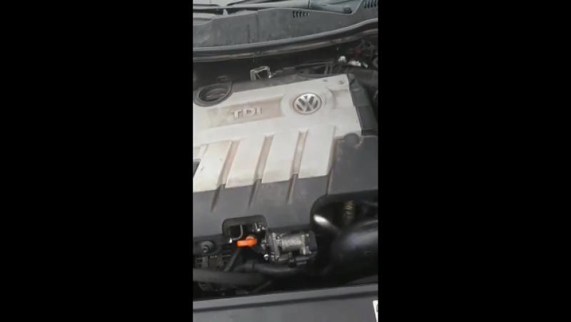 2009 VW Passat b6 2.0 TDI CBAB плохо заводится на холодную