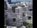 Необычная архитектура домов в Сингапуре