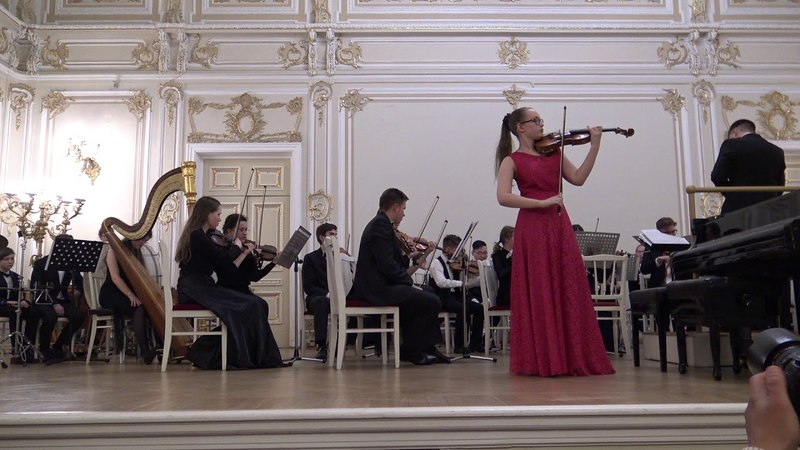 Д Кабалевский Концерт для скрипки с оркемтром 1 часть