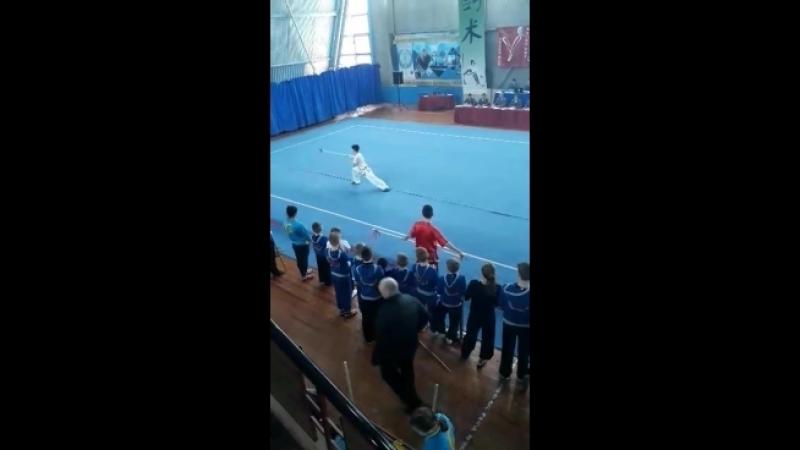 Чемпіонат України з ушу. Котляр Дмитро, 16-Б-2