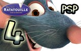 Ratatouille ~ The Movie ~ Game (PSP) Walkthrough Part 4 100 Faster Remy, Run Run