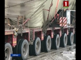Транспортный шлюз для второго энергоблока доставлен на стройплощадку белорусской АЭС