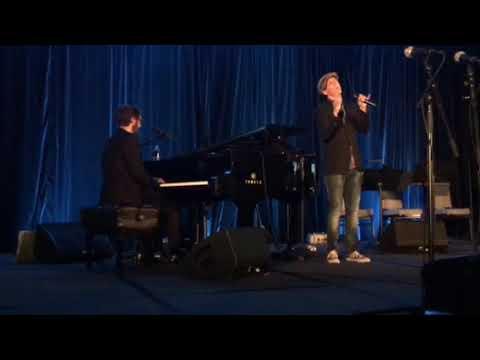 """ Bridge Over Troubled Water"". Josh Groban and Jason Mraz"