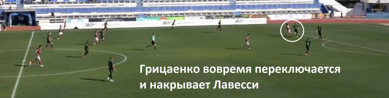 Грицаенко прочитал все ходы Лавесси! Защитник «Краснодара» провел идеальный матч