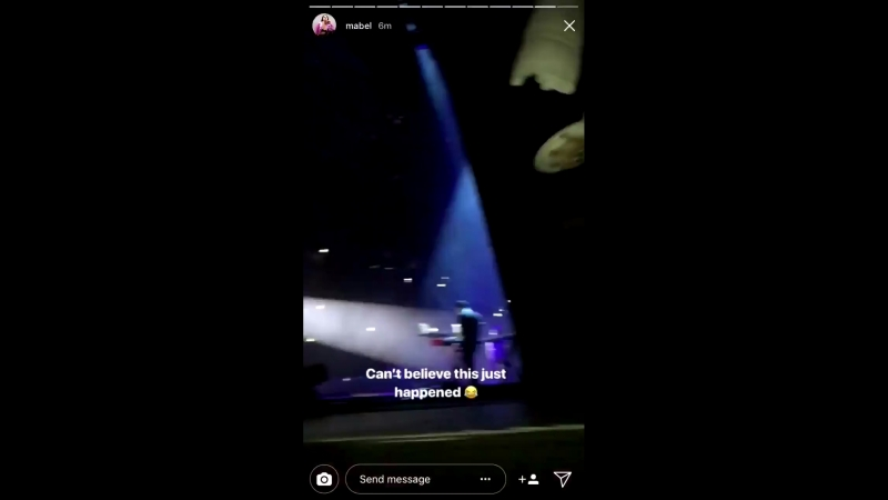 Mabel talking about harry fucking styles throwing pie on her face up close vid of chasm pranking her