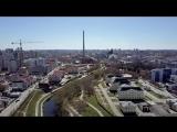Екатеринбург в предверии весны 2017 с DJI Mavic