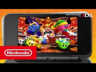 Kirby Battle Royale — трейлер (Nintendo 3DS)