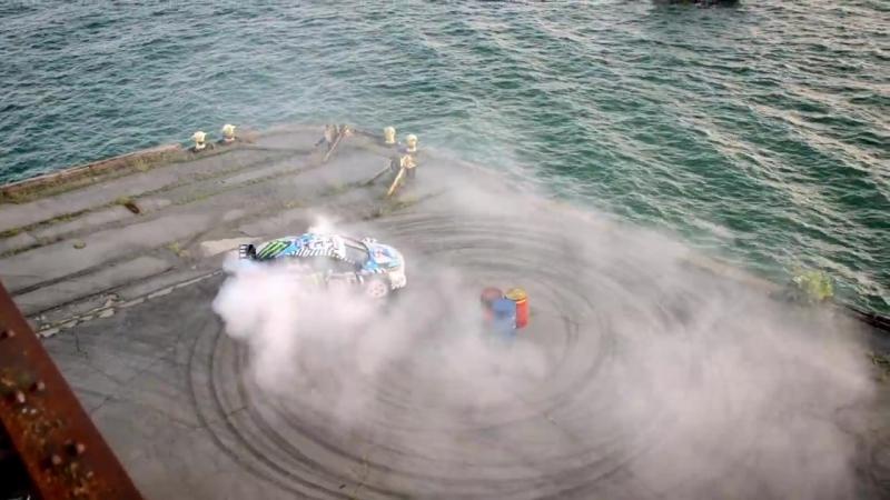 [HOONIGAN] Ken Blocks GYMKHANA NINE- Raw Industrial Playground