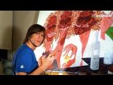 Джим Керри рисует картины