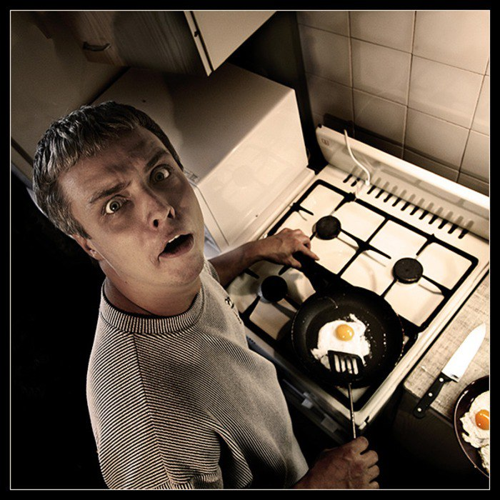 Картинки мужчина на кухне прикольные, цапля картинки приколы