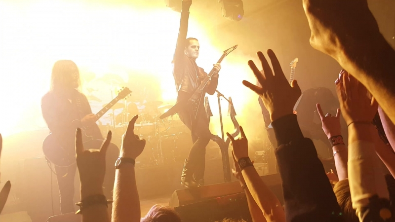 Satyricon - The Pentagram Burns Fuel For Hatred Ekb. Svoboda 27.01.18