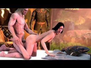 Yennefer ( The Witcher 3 ) assembly | Йеннифэр ( Ведьмак 3) сборка Порно,Хентай,Hentai,Porno