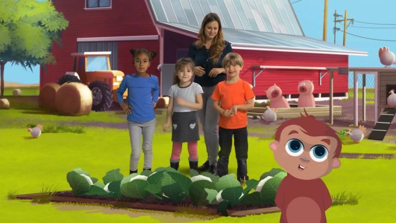 4Г Savez-vous planter les choux - Les Amis de Boubi (Comptine pour enfants)