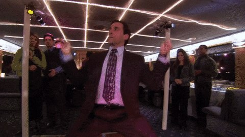 Michael's Dance Moves - The Office US - Create, Discover and Share GIFs on Gfycat