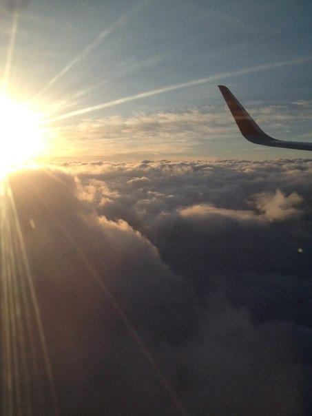 Наконец-то отпуск!!!! Скоро улетим к солнцу✌☀☀ Летать правда немного с
