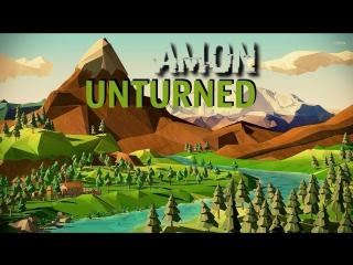 AMON выживает в пиксельном мире UNTURNED