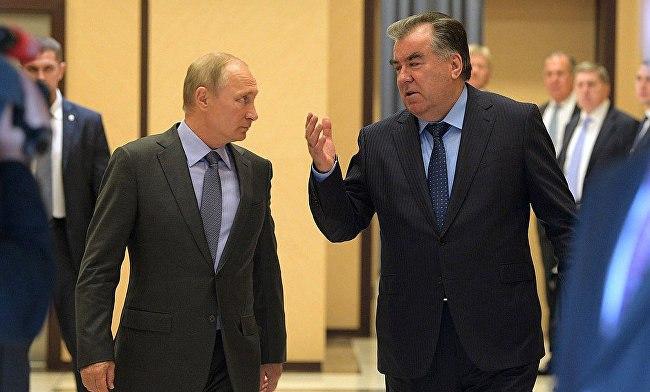 Владимир Путин и Эмомали Рахмон провели переговоры в Сочи. Подробности