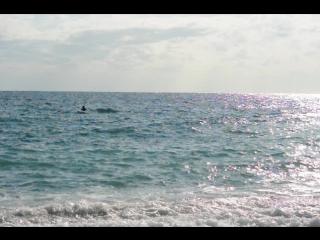 Тесты на крен каяка Кортик на Черном море