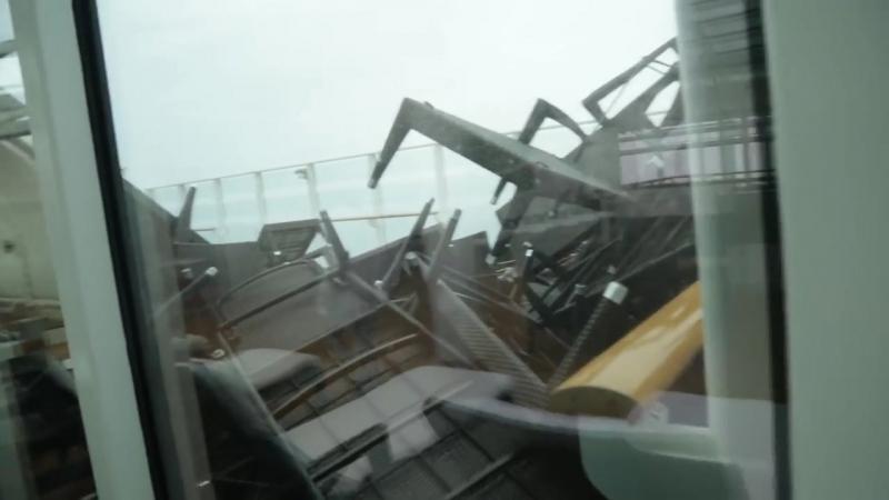 CRUISE SHIP CAUGHT IN A BOMB CYCLONE (Norwegian Breakaway) (1)