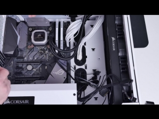 [Hardware Rump] Белая сборка 8700K / 1070ti / Corsair Crystal 570X w / rm850x / H150i pro