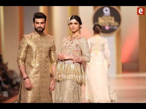Zeeshan Tahir Bridal Couture Week Designer Rizwan Ahmed