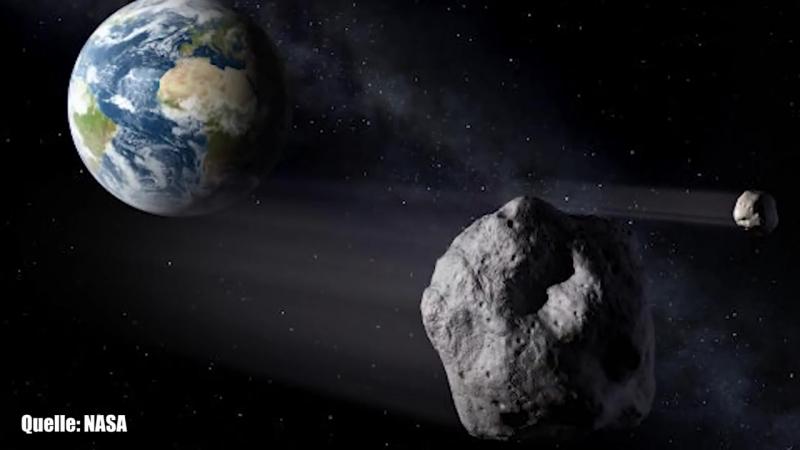 Die Erde entging knapp einem großen Asteroiden-Einschlag (Ja nee,is klar, mach am besten noch nen AlbumGehirnwäsche)